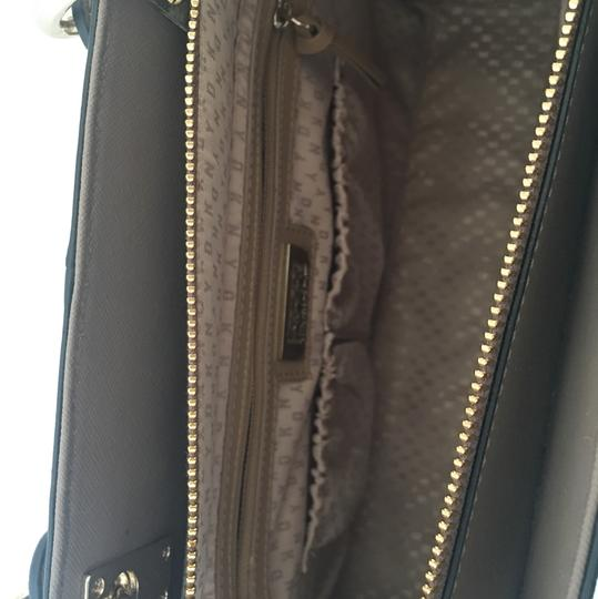DKNY Leather Satchel in Taupe