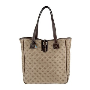 Dooney & Bourke & Quilted Large Weekender Tote in Tan/Brown