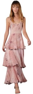Rose Maxi Dress by Free People Boho Bohemian Flowy Tiered Lace