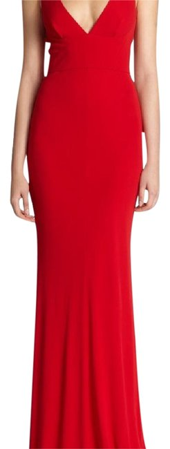 Item - Red 0474188136187 Long Formal Dress Size 4 (S)