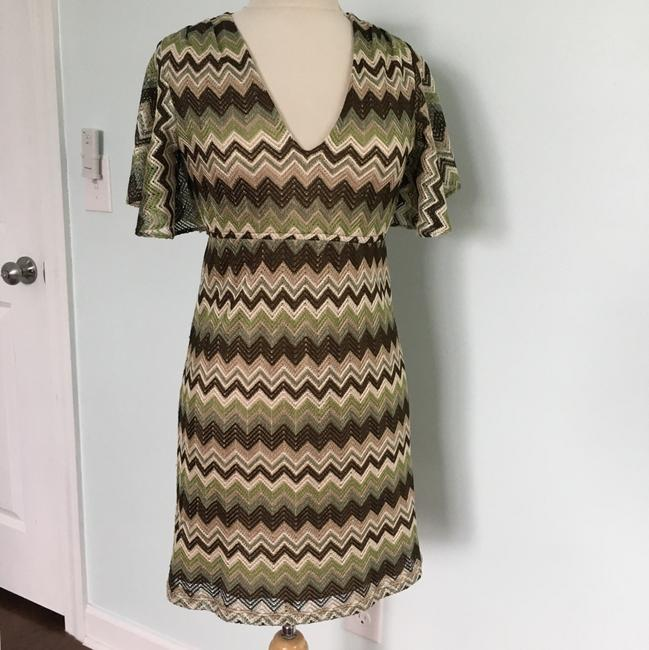 Judith March short dress green on Tradesy