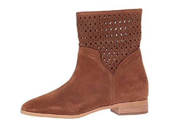 Michael Kors Suede Leather Ankle Brown Boots