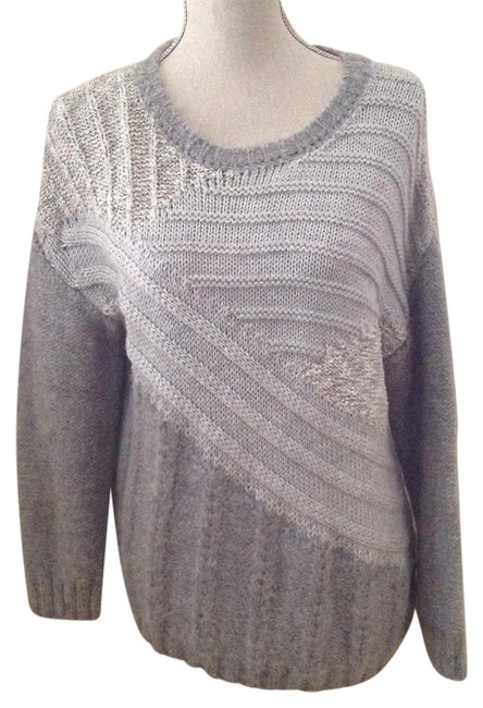 Preload https://img-static.tradesy.com/item/22342350/currentelliott-mixed-gray-the-cable-sweaterpullover-size-2-xs-0-2-650-650.jpg