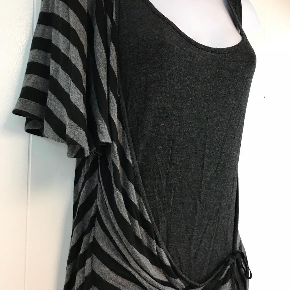 pretty nice b55ec 17e84 MCQ by Alexander McQueen Gray Made In Italy Stretchy S Blouse Size 6 (S)