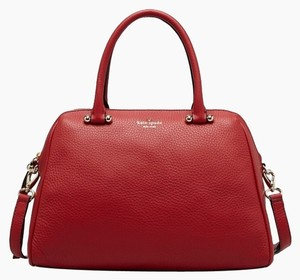 Kate Spade Satchel in Dynasty Red