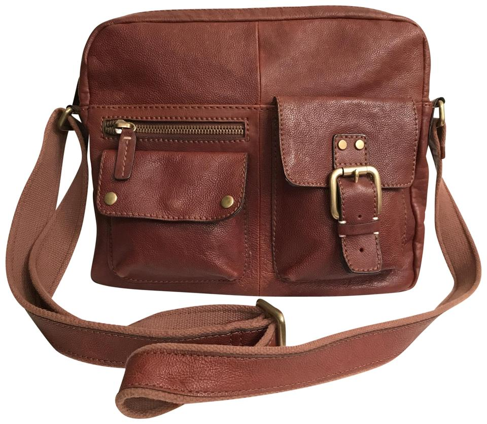 Look - Leather Fossil messenger bags video