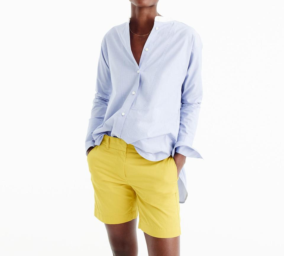 best sale many styles super popular J.Crew Yellow Womens 7 Inch Stretch Chino Shorts Size 4 (S, 27)