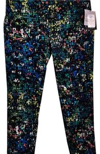 Derek Lam Multi Stretch Day Night Capri/Cropped Pants black