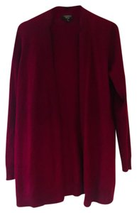 Charter Club Cashmere Red Sweater Cardigan
