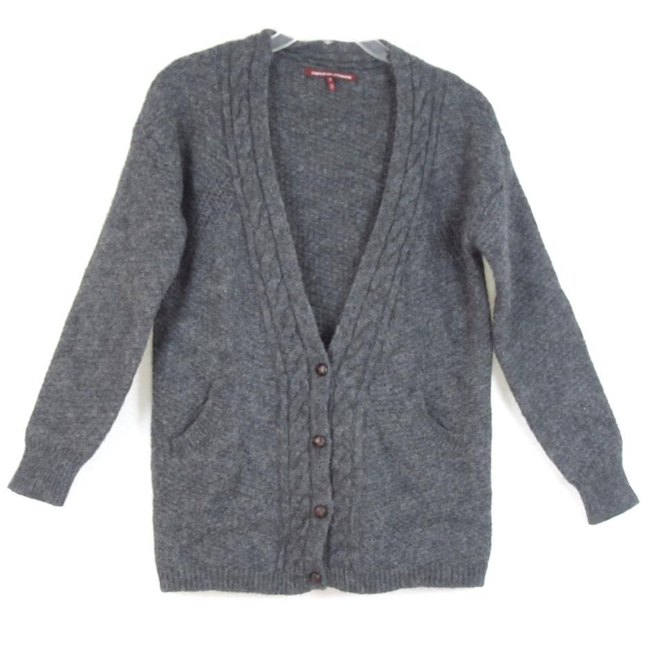 Comptoir des cotonniers felted wool cardigan tradesy - Cardigan comptoir des cotonniers ...