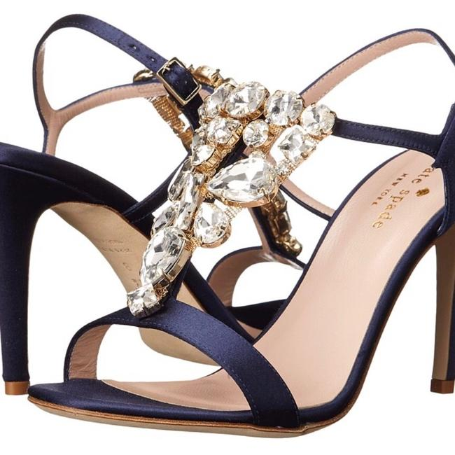 Item - Navy Ignacia Sandals Size US 7.5 Regular (M, B)