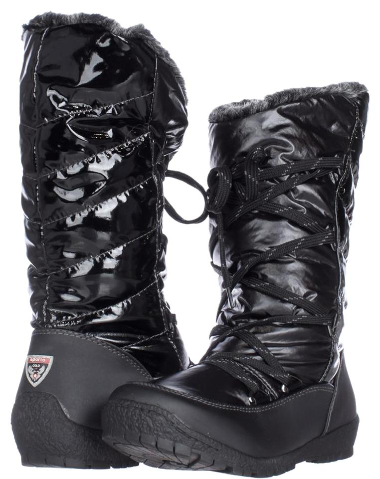 Sporto Waterproof Black Charles Angled Calf Waterproof Sporto Winter W Di Boots/Booties 6e0d6d