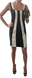 Tinley Road Cut-out Cut Out Color-blocking Open Striped Dress