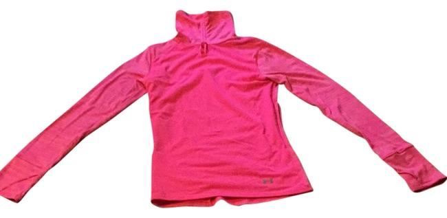 Under Armour Pink Women's Ua Run Wind Turtleneck Activewear Top Size 0 (XS) Under Armour Pink Women's Ua Run Wind Turtleneck Activewear Top Size 0 (XS) Image 1