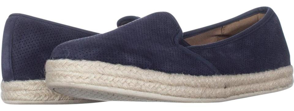 5bf704a0187 Clarks Blue Azella Theoni Slip-on Loafers Navy   41 Eu Flats Size US ...