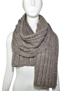 V. FRAAS Fraas winter gray knit scarf