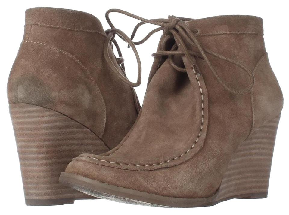 Lucky Brand Brown Ysabel Lace Up Moccasin Wedge 938 Sesame 7.5us37. BootsBooties Size US 7.5 Regular (M, B) 54% off retail