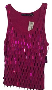 Candie's Top Fuchsia Hot Pink