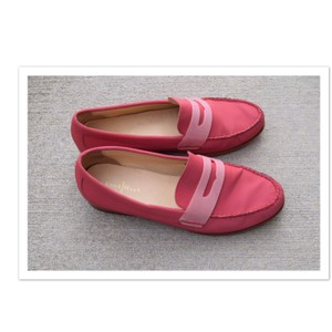Cole Haan pinkish red Flats