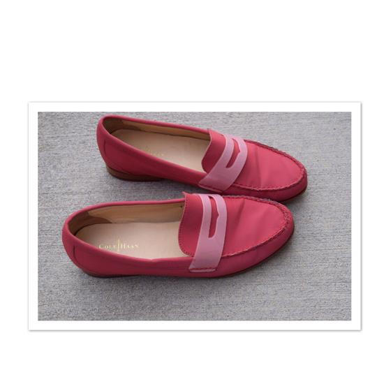 Cole Haan pinkish red Flats Image 3