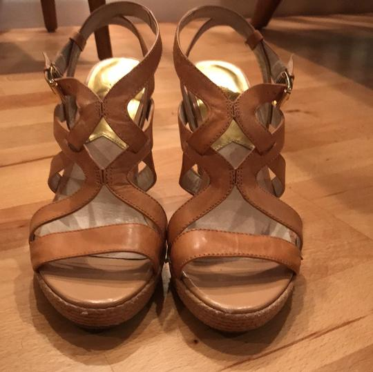 MICHAEL Michael Kors Leather taupe Wedges Image 1