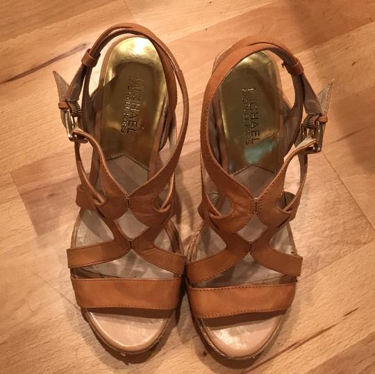 MICHAEL Michael Kors Leather taupe Wedges Image 2