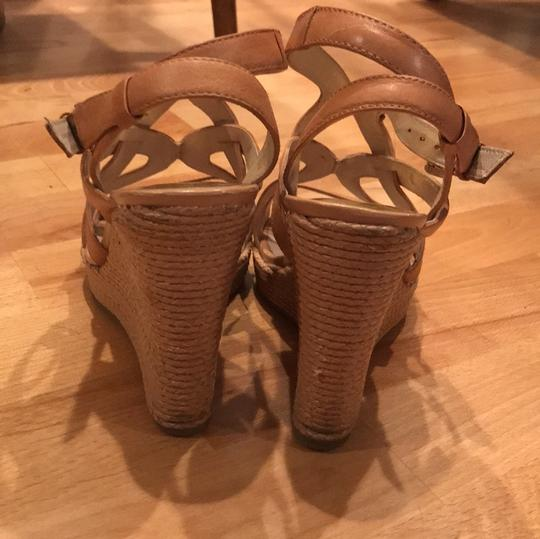 MICHAEL Michael Kors Leather taupe Wedges Image 3