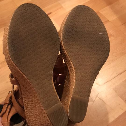 MICHAEL Michael Kors Leather taupe Wedges Image 4