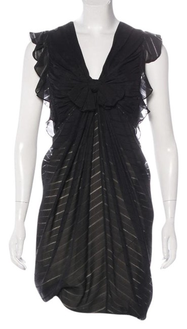 3.1 Phillip Lim Flattering Night Out Striped Silk Dress Image 0