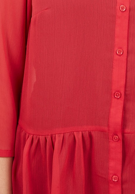 Modcloth Top red Image 3