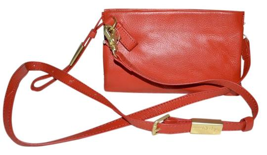 Preload https://img-static.tradesy.com/item/22346865/foley-corinna-gigi-wristlet-purse-coral-leather-cross-body-bag-0-1-540-540.jpg