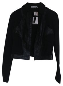 Alexander Wang Lambskin Leather Chic black Jacket