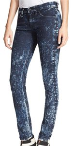 Rag & Bone Acid Wash Stretch Skinny Jeans-Acid