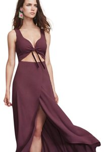 Plum Maxi Dress by Reformation