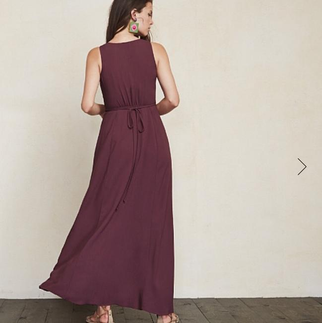 Plum Maxi Dress by Reformation Image 2