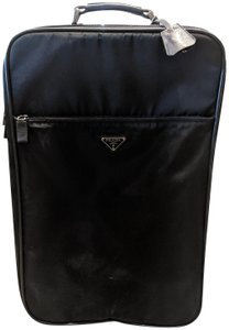 Prada Suitcase Luggage Saffiano black Travel Bag