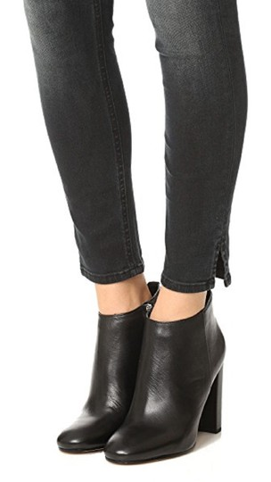 2feca585c Sam Edelman Black Cambell Leather Ankle Boots Booties Size US 7.5 ...