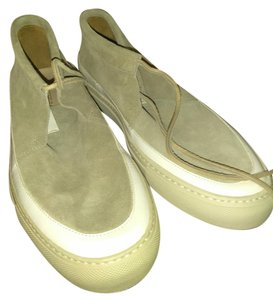 Buttero Tan white Flats