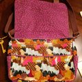 Fossil New Extra Large Coated Canvas Multi Messenger Bag Image 4