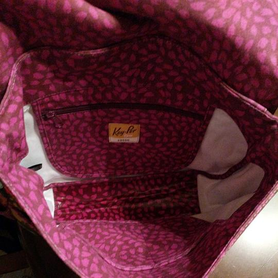Fossil New Extra Large Coated Canvas Multi Messenger Bag Image 9