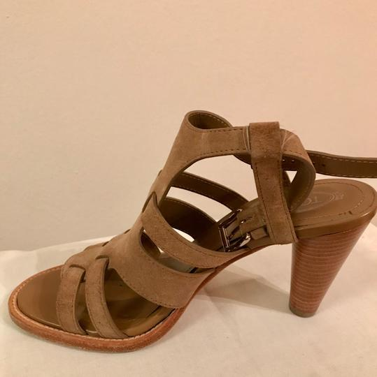 Tod's Brown suede Sandals Image 2