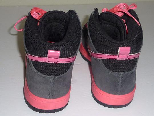 Nike Glitter Sparkle Dunk Lace Up Pink Athletic Image 1