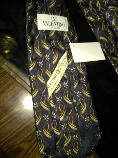 Valentino Valentino made in Italy print tie Image 2
