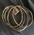 Nordstrom 1ar by unoaerre textured stackable bangles Image 1