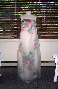 Edward Cromarty Art Design Studio Floral Rose Gown Wedding Dress