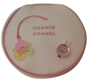 Chanel NEW CHANEL CHANCE COSMETIC BAG + CHARM & PIN