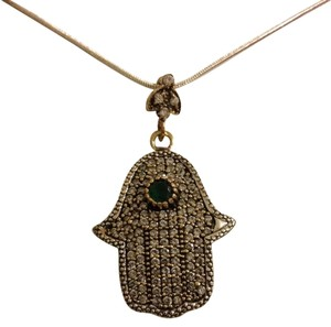 Other Turkish Design Pendant on a Silver Chain