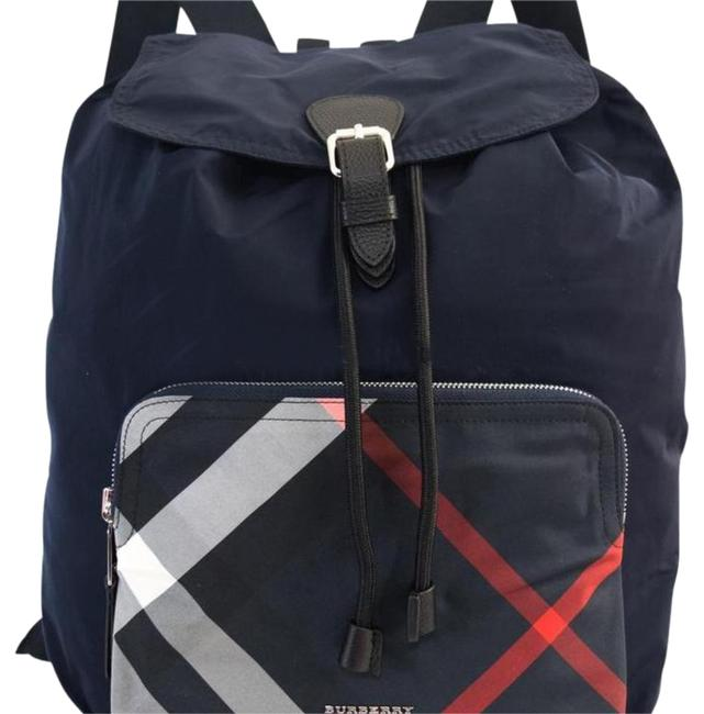 Item - Bumbags Men Navy Nylon Backpack