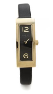 Marc by Marc Jacobs Logo Plaque Black Watch