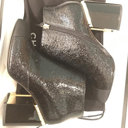 Chanel Classic Chic And Shiny black Boots Image 6